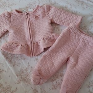 2 piece outfit 0-3 months